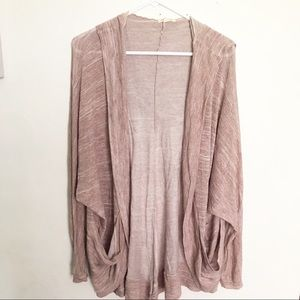 UO long cardigan with a good and pockets